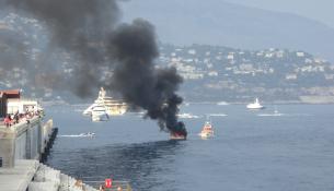 Fumo nero sul Principato di Monaco