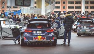 Vince Ogier all'85° Rally de Monte Carlò