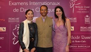 I premi della danza classica a Monte Carlo