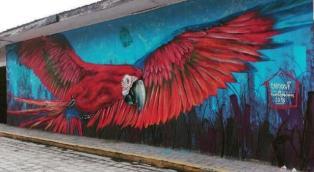 In Honduras c'è un piccolo paese pieno zeppo di murales
