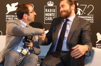 PIERPAOLO LA ROSA dalla 72° Mostra del Cinema di Venezia, intervista a JAKE GYLLENHAAL