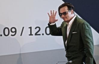 """PIERPAOLO LA ROSA dalla 72° Mostra del Cinema di Venezia, il Fotocall di Johnny Depp per """"Black Mass"""""""