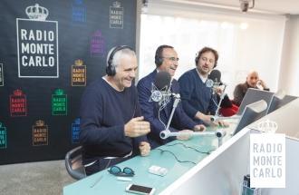 CARLO CONTI, LEONARDO PIERACCIONI e GIORGIO PANARIELLO ospiti in studio