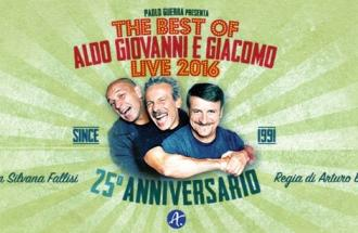 GIOVANNI STORTI, The Best Of Aldo Giovanni e Giacomo Live 2016