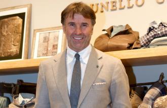 BRUNELLO CUCINELLI Stilista, Imprenditore e Filantropo italiano fondatore dell'omonima azienda