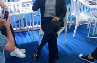 PIERPAOLO LA ROSA dal 69° Festival di Cannes, intervista di RICCARDO SCAMARCIO