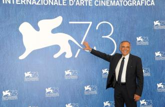 PIERPAOLO LA ROSA dalla 73° Mostra del Cinema di Venezia, intervista a ALBERTO BARBERA