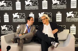 """PIERPAOLO LA ROSA dalla 73° Mostra del Cinema di Venezia, il film """"The light between oceans"""" e intervista a GABRIELE MUCCINO"""