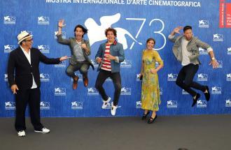 """PIERPAOLO LA ROSA dalla 73° Mostra del Cinema di Venezia, il film """"Arrival"""" e intervista a BRANDO PACITTO e MATILDA LUTZ"""