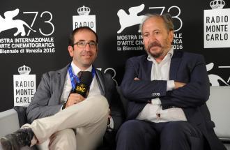"""PIERPAOLO LA ROSA dalla 73° Mostra del Cinema di Venezia, il film """"Questi giorni"""" e intervista a SIMONE BELLI"""
