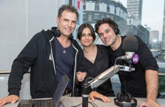 ROSITA CELENTANO, PINO QUARTULLO e ATTILIO FONTANA ospiti in studio