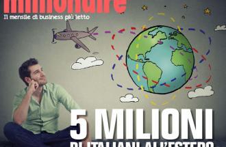 SILVIA MESSA Giornalista del mensile Millionaire, 5 milioni di italiani all'estero