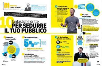 ELEONORA CHIODA della rivista Millionaire, parlare in pubblico