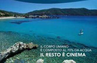 ELEONORA VALLONE Direttrice Artistica dell'Acqua film festival all'Elba