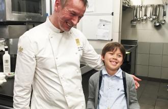 PAOLO SARI Bio Chef, un bambino e uno Chef insieme