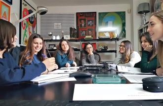 FRANZ BOTRE' Direttore di Arbiter, incontro tra studenti della scuola Beccaria e la redazione di Arbiter