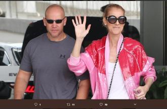 Celine Dion e Chiara Ferragni: in comune il giubbotto rosa