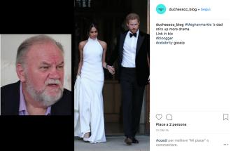 Meghan Markle: ecco cosa disse il padre Thomas ad Harry dopo lo scandalo dei paparazzi