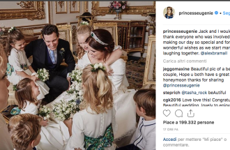 Royal Wedding: la foto più commovente della Principessa Eugenie