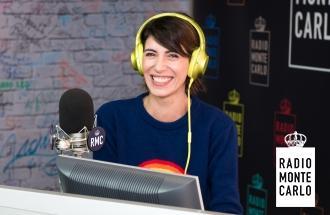 Giorgia: le foto esclusive negli studi di Radio Monte Carlo