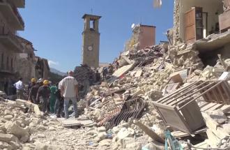 Il terremoto di Amatrice, è sempre emergenza.