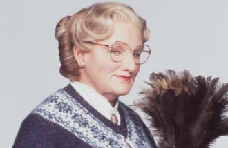 Robin Willliams: queste scene inedite di Mrs Doubtfire vi commuoveranno