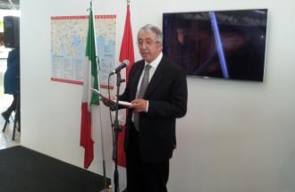 Sua Eccellenza ROBERT FILLON Ambasciatore del Principato di Monaco in Italia, primo bilancio di attività del Pavillon Monaco al Expo 2015