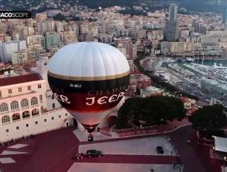 Una mongolfiera ecologica solca i cieli di Monaco!