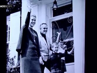 Il Principe Alberto II nella casa di Grace Kelly a Philadelphia