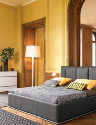 Giallo, viola o... Ecco i colori ideali per la camera da letto!