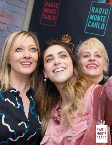 Miriam Leone e Marina Rocco ospiti di RMC: le foto più belle
