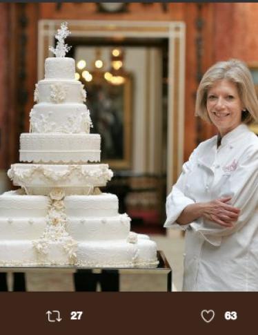 Da Meghan Markle alla Regina Madre, ecco la storia di tutte le torte nuziali reali