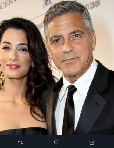 Amal Clooney: «I gemelli hanno detto 'mamma'. Merito di George»