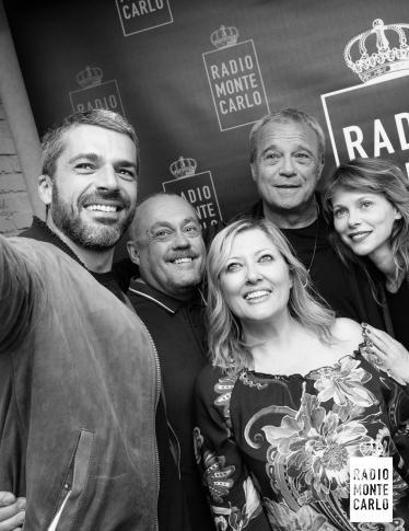 Luca Argentero, Claudio Amendola, Barbora Bobulova ospiti di RMC: le foto più belle
