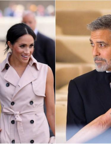 Harry e Meghan in vacanza a casa di George e Amal Clooney