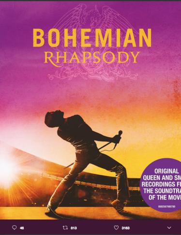 Bohemian Rhapsody: i poster del film