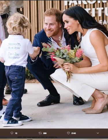 Harry e Meghan: scopri  tutti i meme più divertenti dedicati al bebè in arrivo