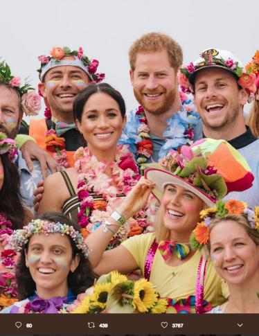 Meghan e Harry:  le foto più belle del viaggio in Australia
