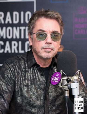Jean Michel Jarre ospite di Radio Monte Carlo: le foto