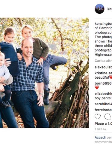 Natale: gli auguri di Kate, William e dei Royal Baby