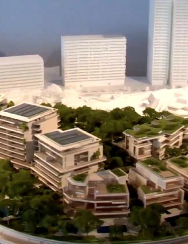 Il quartiere costruito sull'acqua a Monte Carlo cresce: guarda le immagini