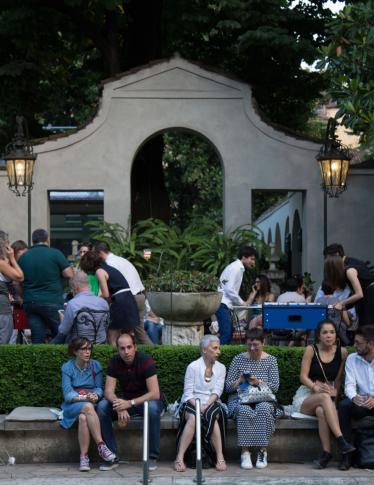 Metti una sera in giardino a Villa Necchi Campiglio