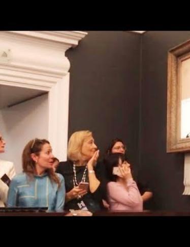 E se l'autodistruzione dell'opera di Banksy fosse un fake?