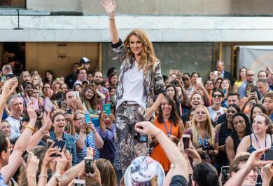 Celine Dion ringrazia i fan per il loro sostegno