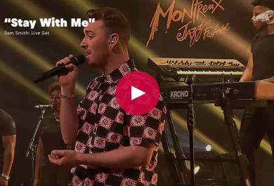 Sam Smith: Stay With Me al Montreux Jazz Festival