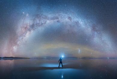 Dalla Bolivia le spettacolari foto della via Lattea come non l'avete mai vista