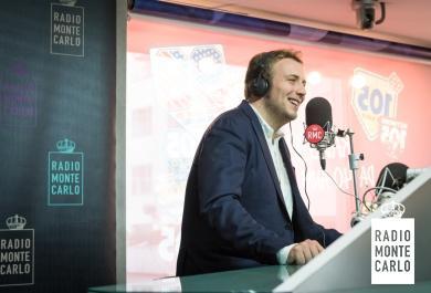 Raphael Gualazzi ospite di Radio Monte Carlo