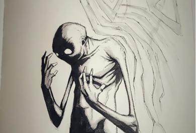 Inktober. Disordini e malattia mentale nelle illustrazioni di Shawn Coss