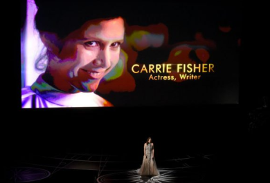 Oscar: l'omaggio a Carrie Fisher. Il video