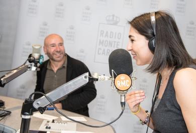 Mario Venuti ospite di RMC: le foto più belle